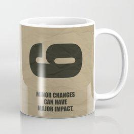 Lab No. 4 - Minor Changes Can Have Major Impact Corporate Start-up Quotes Coffee Mug