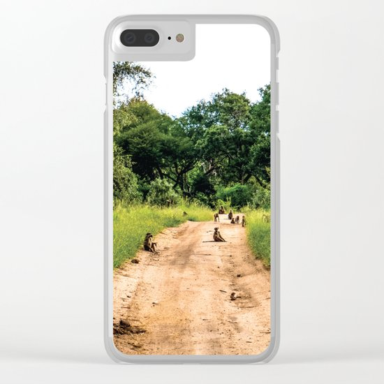 Jungle Gangsters Clear iPhone Case