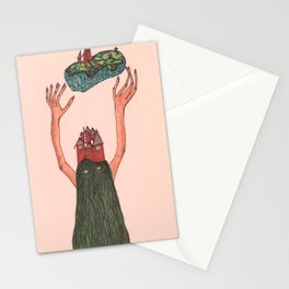 Cousin Itt Stationery Cards