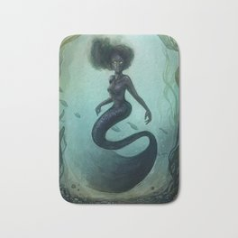 Siren Rising Bath Mat
