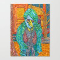 lawyer Canvas Prints featuring The Southern Bird Lawyer by smoothimages