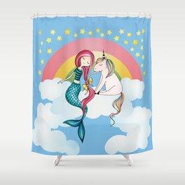 A Night's Dream Shower Curtain