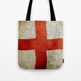 Vintage England flag Tote Bag