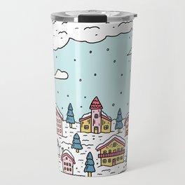 Snow globe Travel Mug