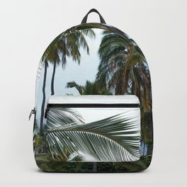 Place of Refuge Palm Trees Backpack