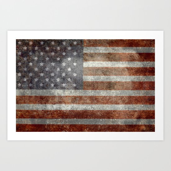 """Old Glory"", The Star-Spangled Banner Art Print"