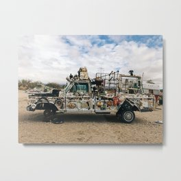 Art Car Metal Print