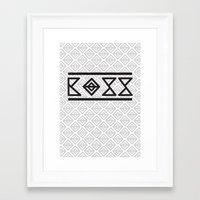 boss Framed Art Prints featuring BOSS by SoulDeep