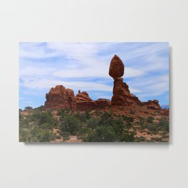 Balanced Rock Metal Print