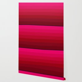 Pink and Red Stripes Wallpaper
