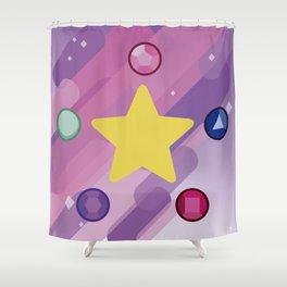 The Crystal Gems Shower Curtain