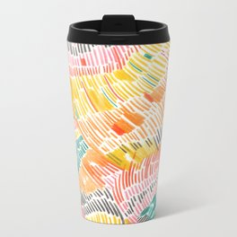 Pattern 6 Metal Travel Mug