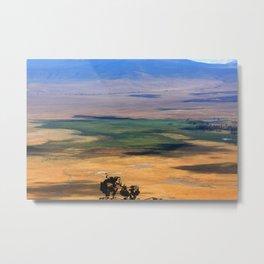 Ngorongoro Crater Tanzania Metal Print