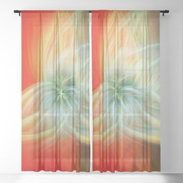 Energy Blossom Sheer Curtain