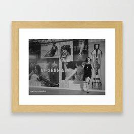 The Wall Of Germain Framed Art Print