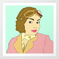 Carrie Hope Fletcher Art Print