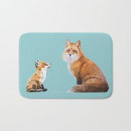 Fox Tenderness Bath Mat