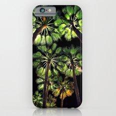 Palm Trees Night Walk iPhone 6s Slim Case