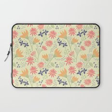 Autumn Floral Pattern Laptop Sleeve