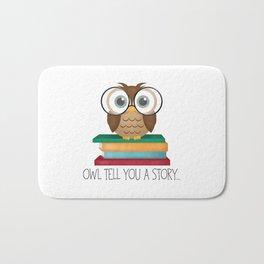 Owl Tell You A Story... Bath Mat