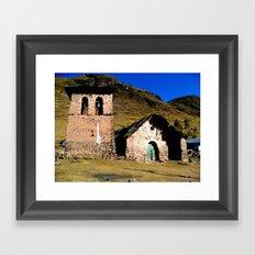 From Lares trek Framed Art Print