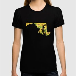Maryland in Flowers T-shirt