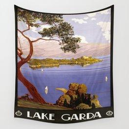 Vintage poster - Lake Garda Wall Tapestry