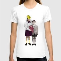 bride T-shirts featuring Bride by Momenti Riciclati