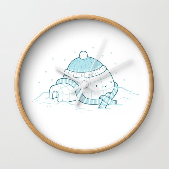Igloo Wall Clock