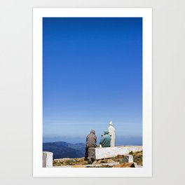 Mount Alam Art Print