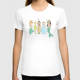 Peter Pan's Lost Girls T-shirt
