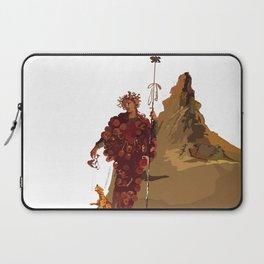 BACCHUS AT POMPEII - VESUVIUS Laptop Sleeve