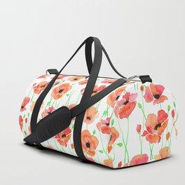 Poppies Flowers Duffle Bag