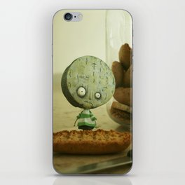 Brie Boy - Tim Burton iPhone Skin