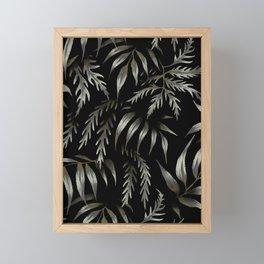 Brooklyn Forest - Black Framed Mini Art Print