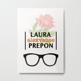 Laura Prepon | Alex Vause Metal Print