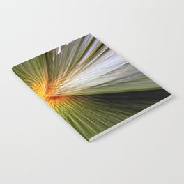 Palm leaf zoom Notebook