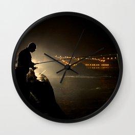 Biarritz, France - The Fisherman Wall Clock
