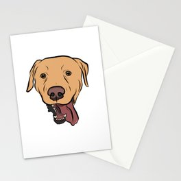 Levi the Yellow Lab Stationery Cards