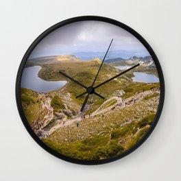 Lakes Wall Clock