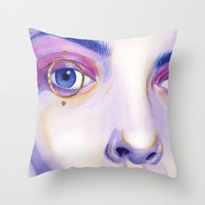 Close Up 4 Throw Pillow