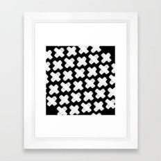Black xxx Framed Art Print