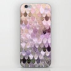 SUMMER MERMAID MOONSHINE GOLD iPhone & iPod Skin