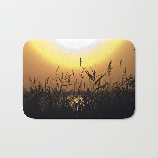 Seagrass - Summersunset - Isle Ruegen Bath Mat