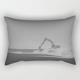 Waves ? What waves ? Rectangular Pillow