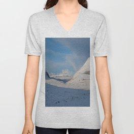 Mountain Snow Unisex V-Neck
