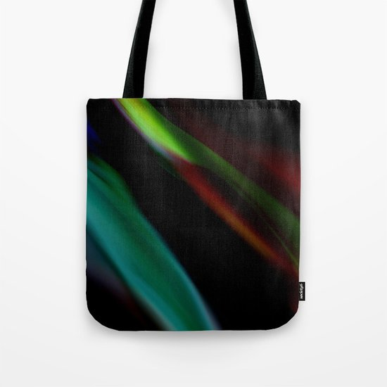 Colored Flames Tote Bag