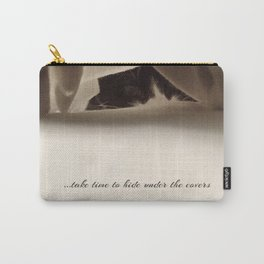Take time Carry-All Pouch