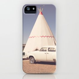 Sleep at the Wigwam iPhone Case