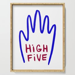 High Five Serving Tray